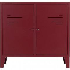 Commode 2 portes en métal - 2 coloris - LOFTER