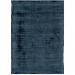 Tapis moiré en viscose - bleu 120x170cm - vue de face - EDEN