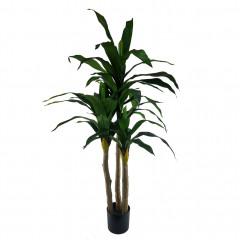 Plante tropicale artificielle avec longues feuilles H170cm - YUKA