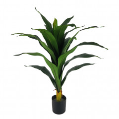 Plante tropicale artificielle Yucca H80 cm - YUKO