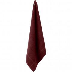 Torchon éponge 50x50cm en coton rouge - PANISSE 682