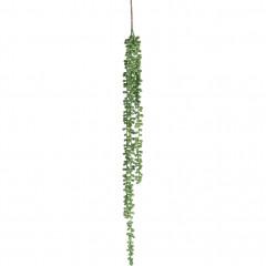 Plante tombante artificielle verte H78cm - SENECON 787