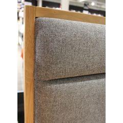 Lit 160 x 200 bois naturel avec tiroirs - zoom angle  - BLOSS