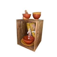Casier rustique en bois - grand modèle - BOX