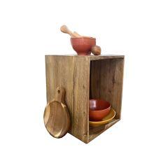 Casier rustique en bois - petit modèle - BOX