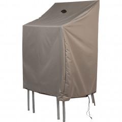 Housse de protection pour chaises empilables beige L66x66xH120cm - RIANS 709