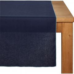 Chemin de table en lin et coton 50x150cm - 3 coloris - MILA