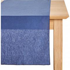 Chemin de table en lin et coton 50x150cm - 2 coloris - NOLA