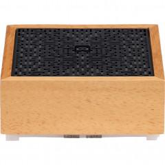 Diffuseur aromatique électrique de parfum en bambou - Face du diffuseur - ZEN 273