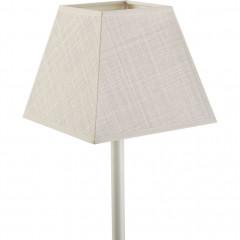 Abat-jour carré en coton L16cm - beige - MISTRAL