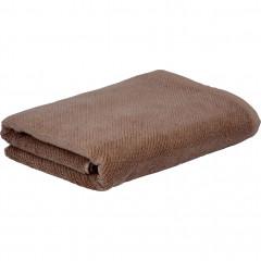 Drap de bain 130x70cm coton bio doux et résistant - 2 coloris - COLINE