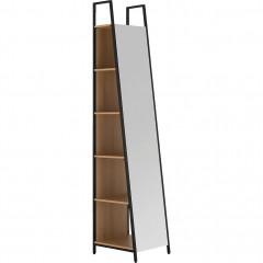 Miroir avec rangement H221cm - HENRY 880