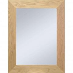 Miroir en bois de chêne 50x70 cm - EMBRUN 581