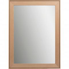 Miroir en bois de hêtre 50x70 cm - DELPHINE 505