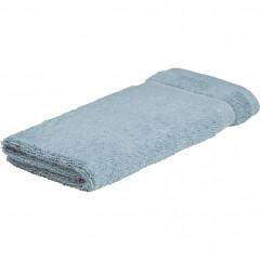 Lot de 4 serviettes invités coton peigné 30x50 - 4 coloris - AZUR