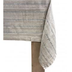 Nappe en lin et coton à motifs rayés 170x250cm - NAIS 463