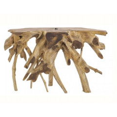 Console en bois racine de teck - THECKROOT