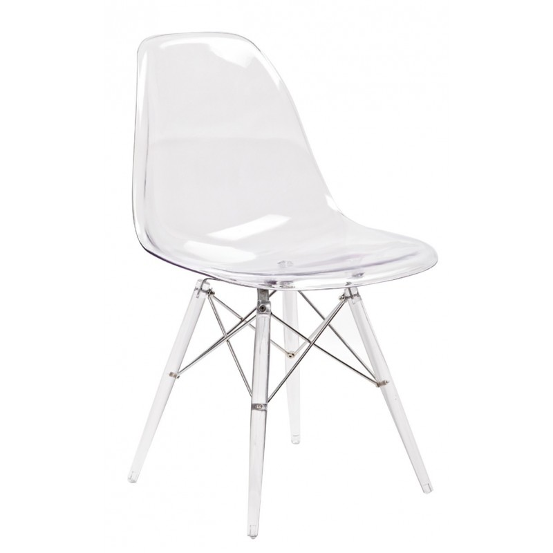 chaise transparente ziggy - Chaise Transparente