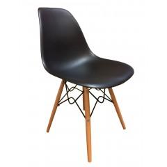 Chaise design scandinave noire - RETRO
