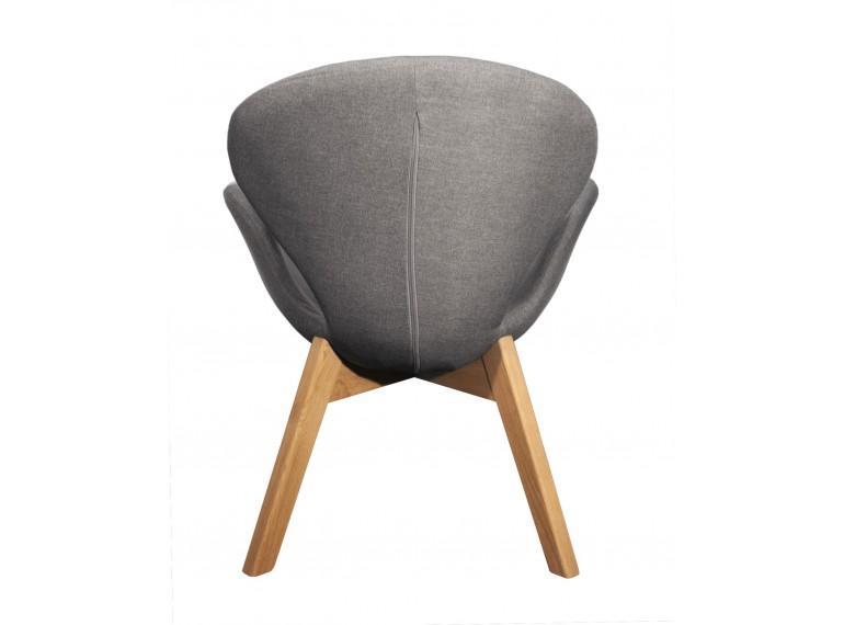 40 merveilleux chaise grise pied bois zat3 fauteuil de salon for Chaise grise salon