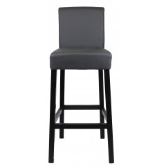 Tabouret de bar - Gris anthracite - BAR