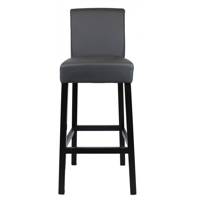 tabouret de bar gris anthracite bar. Black Bedroom Furniture Sets. Home Design Ideas
