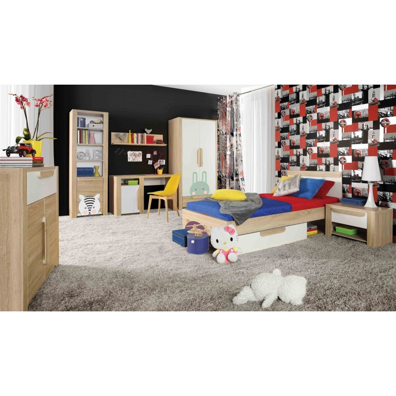 tiroir sous lit enfant style scandinave lace. Black Bedroom Furniture Sets. Home Design Ideas