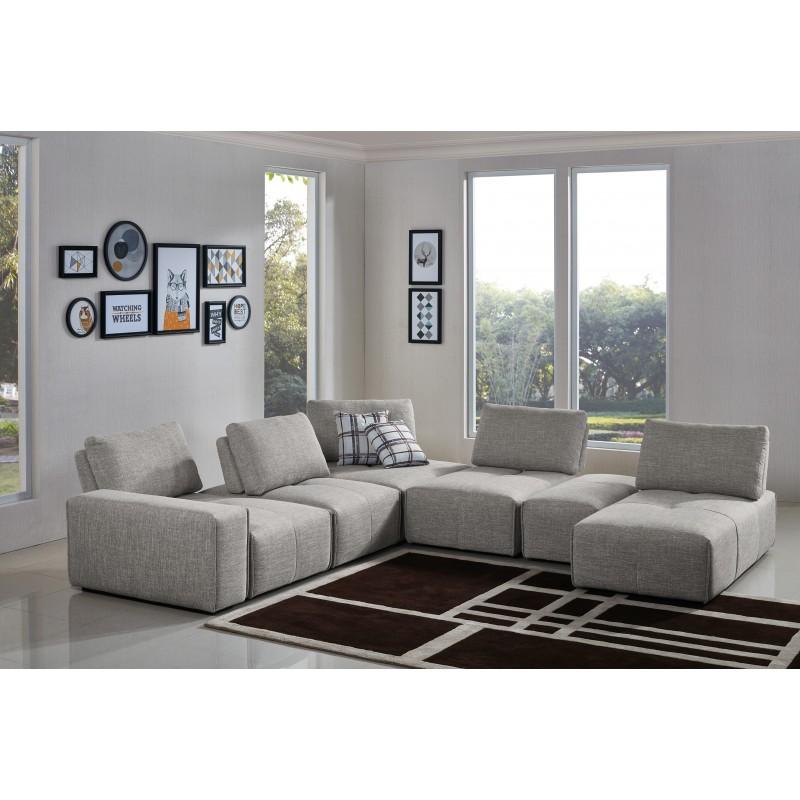 canap modulable accoudoir finn. Black Bedroom Furniture Sets. Home Design Ideas