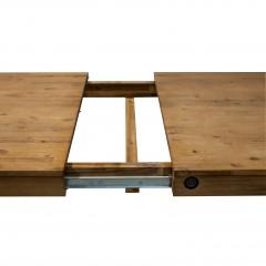 Table repas style industriel 160cm avec allonge - ATELIER