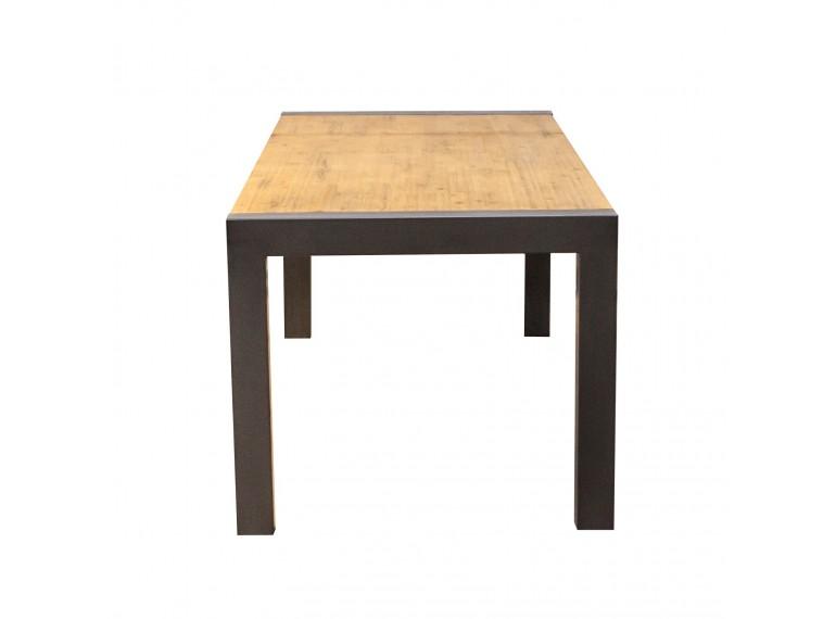 Atelier table repas 160cm avec allonge - Table atelier industriel ...