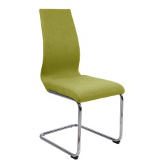 Chaise originale cantilever - Vert anis - GINI