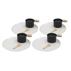 Appareil à raclette avec assiette pour 4 personnes - COOKUT