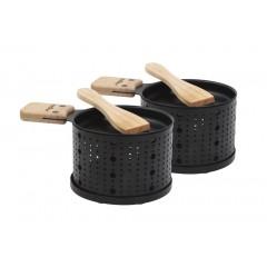Appareil à raclette set de 2 pièces - COOKUT