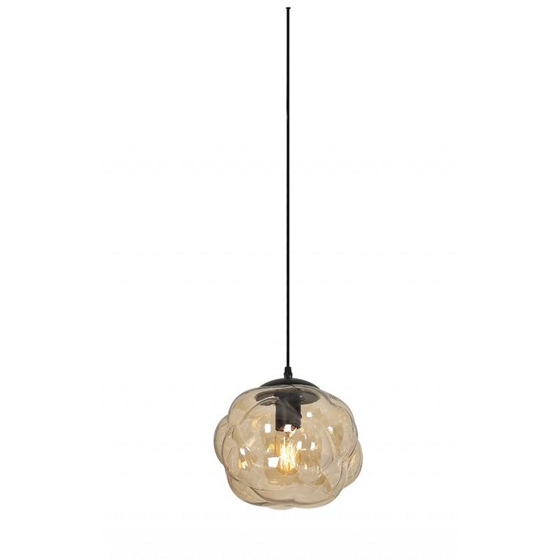suspension en verre transparent couleur champagne champi. Black Bedroom Furniture Sets. Home Design Ideas