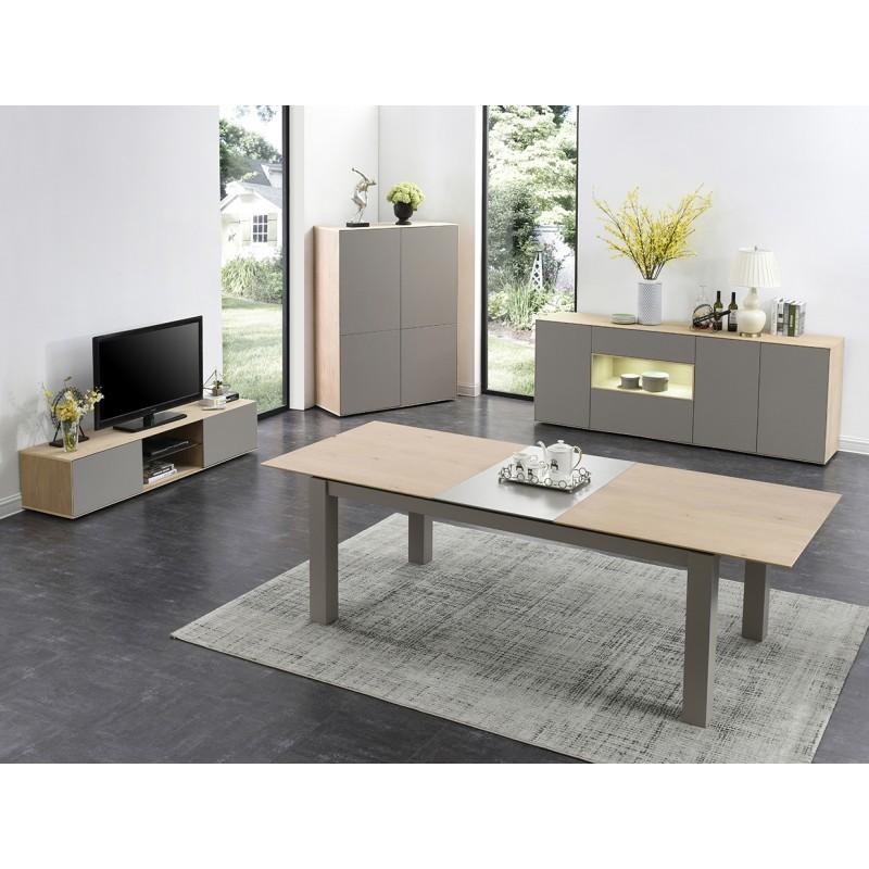 meuble tv avec niche alpha. Black Bedroom Furniture Sets. Home Design Ideas