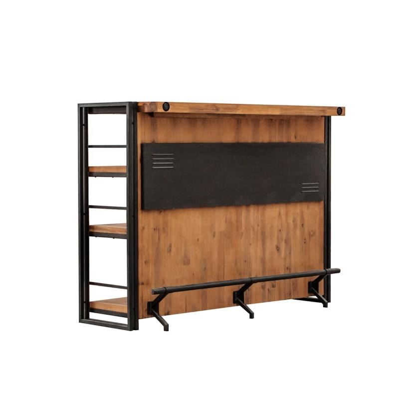 bar style industriel atelier belhome. Black Bedroom Furniture Sets. Home Design Ideas