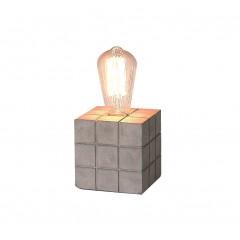 Lampe à poser BETON - CUBE 11,5 cm - RUBICUB
