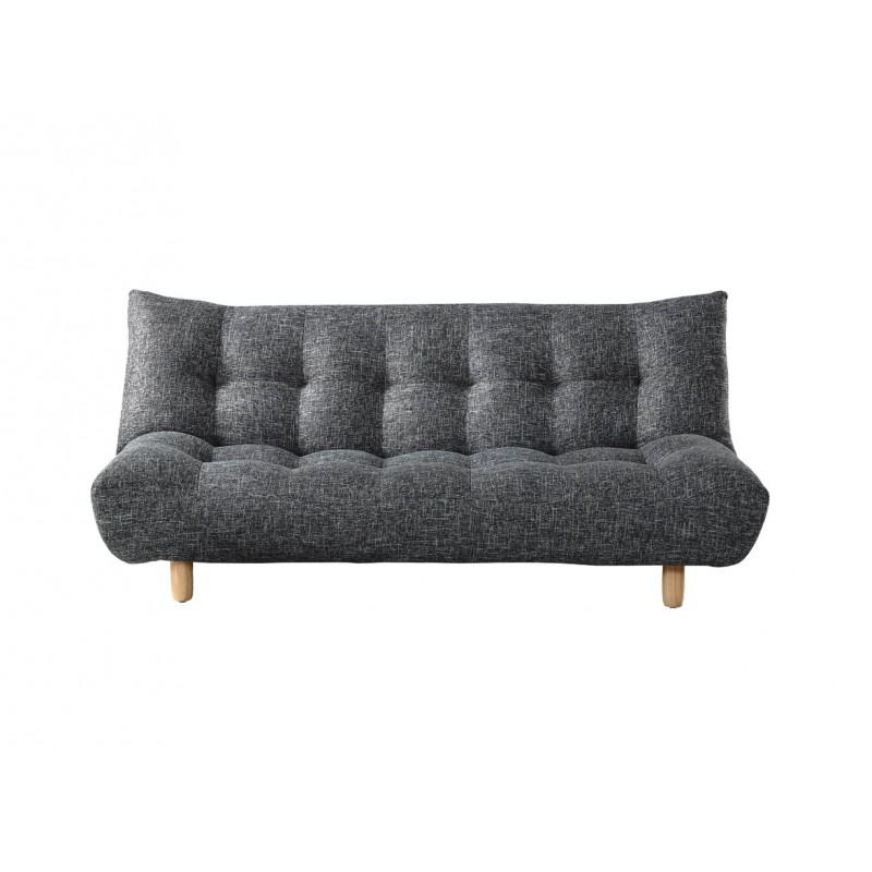 canap convertible 3 places gris dakota. Black Bedroom Furniture Sets. Home Design Ideas