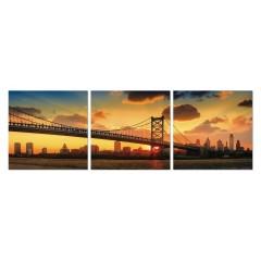 Tableau photo plexiglas / Décoration murale New York - triptyque