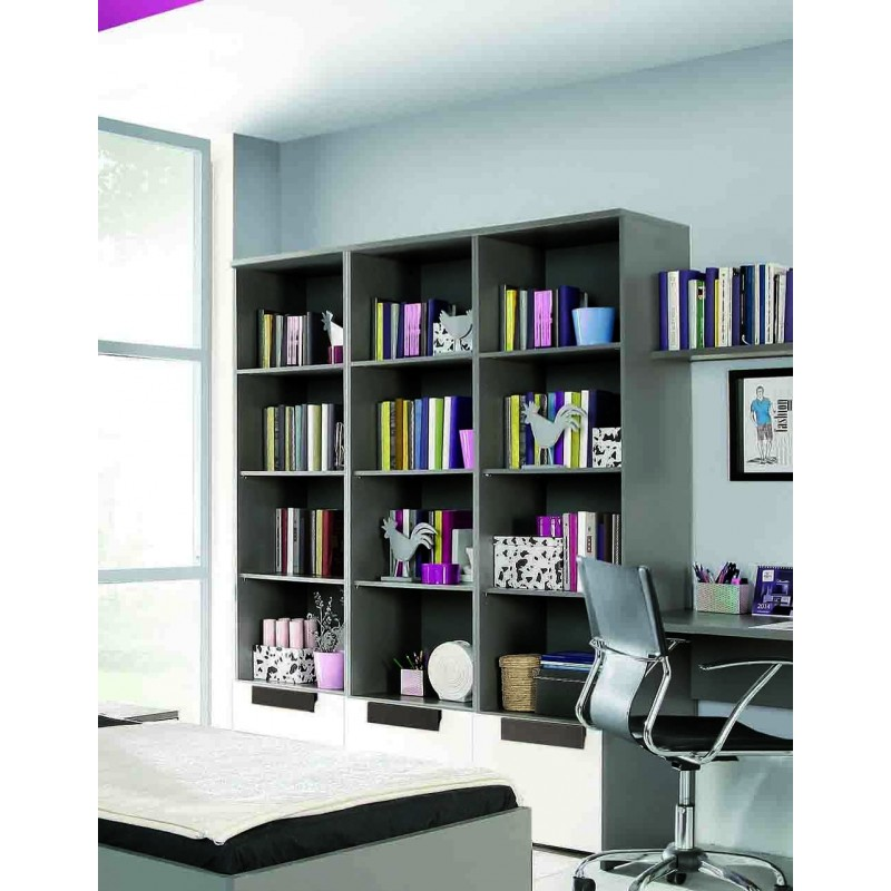 etag re biblioth que rangement enfant libelle. Black Bedroom Furniture Sets. Home Design Ideas