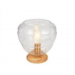 Lampe à poser en verre TRANSPARENT - CHAMPI