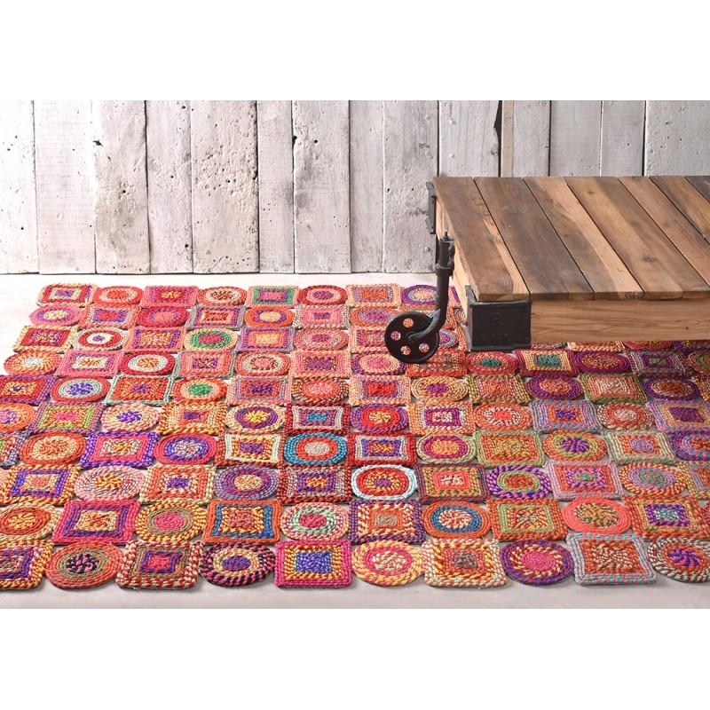 tapis multicolore 120x180 sienna - Tapis Multicolore