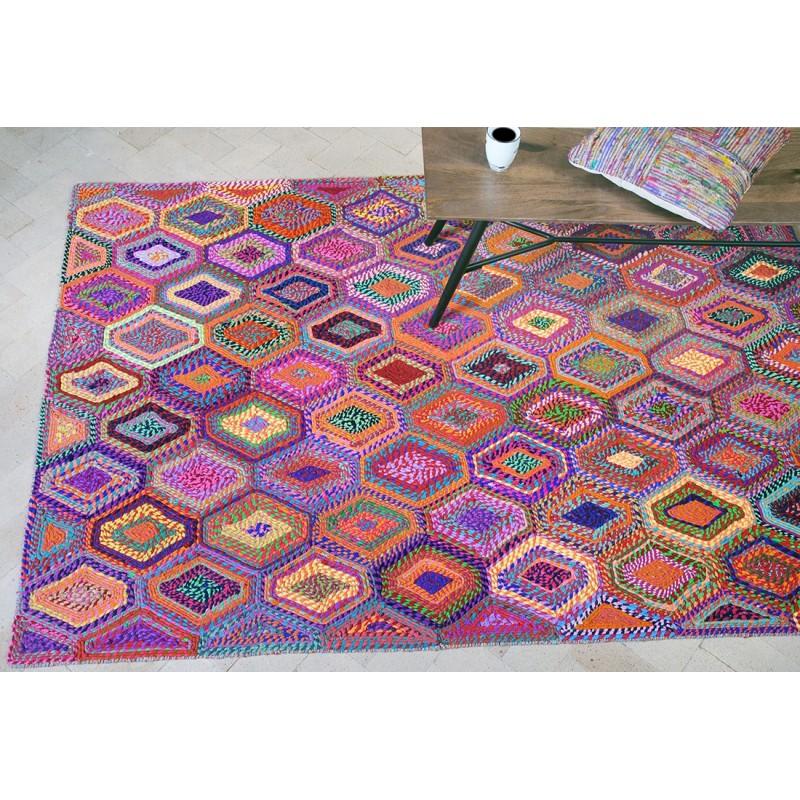 tapis multicolore 120x180 bobochic - Tapis Multicolore