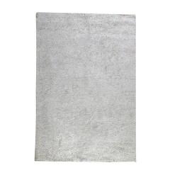 TAPIS beige NATUREL rectangulaire 120x180 coton - ultra doux, effet brillant - JALNA