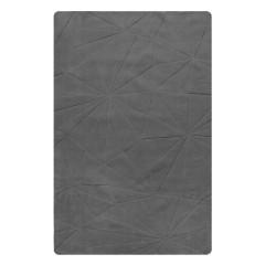 Tapis rectangulaire - GRIS - 160x230 FABRICE