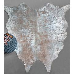 TAPIS 160x230 cuir argenté - SHINE