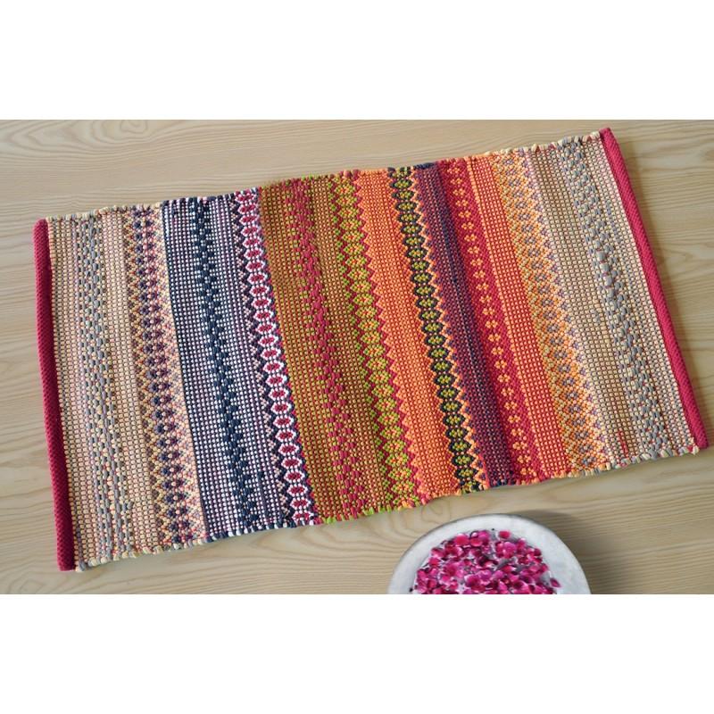 tapis multicolore perle - Tapis Multicolore
