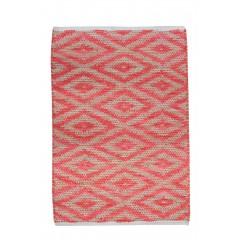 Tapis rouge 60 x 90 COTON - MANDEL