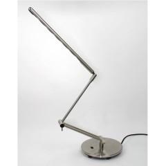 Lampe à poser réglable en 3 articulations en métal