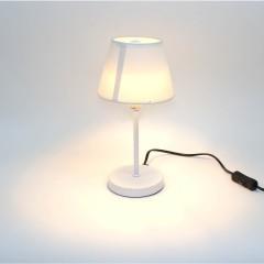 Lampe de chevet - BLANC - idéal salon, chambre